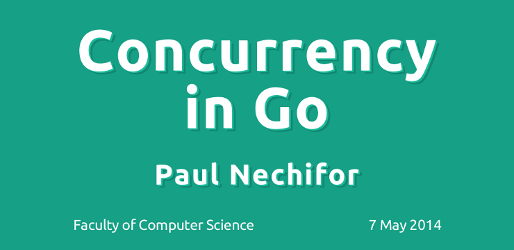 Concurrency in Go screenshot
