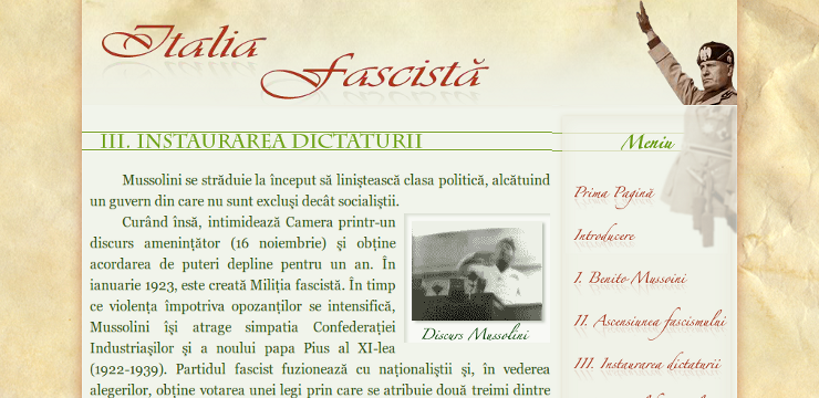 Italia fascistă screenshot