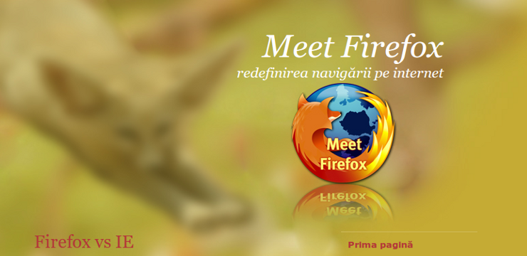 Meet Firefox screenshot