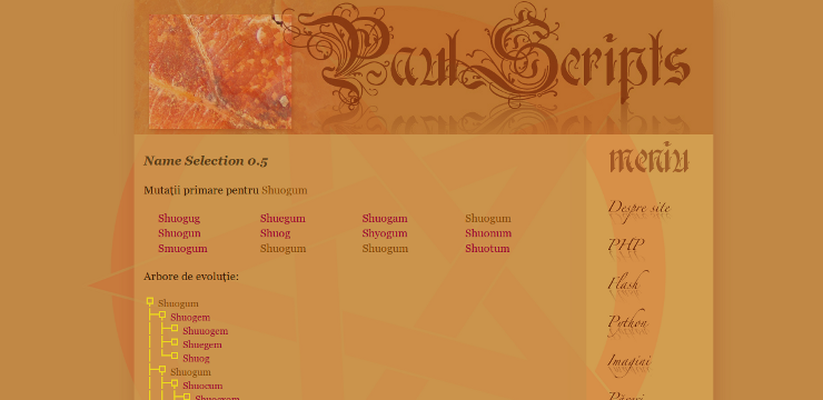 Paul Scripts screenshot