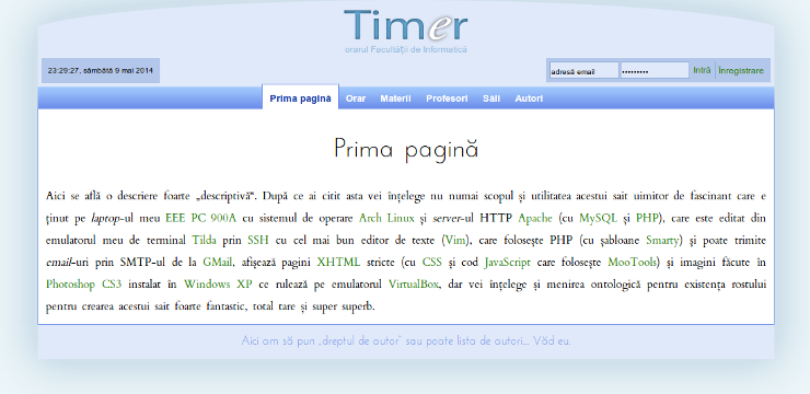 Timr screenshot